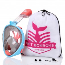 KBB Outdoor 180° View Panoramic Full Face Snorkel Mask